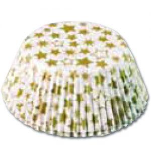 item # 501290 - CupCake vormen - Gouden Sterren