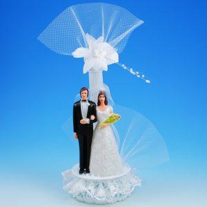 Bruidspaar Kunststof