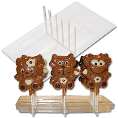 item # 611001 - Plastic Display voor 18 Lolly's