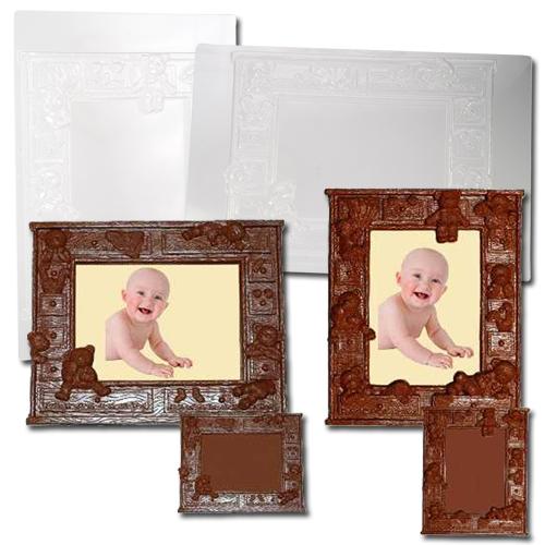 item # 611099 - Plastic Mallen voor Kinder Foto lijstjes