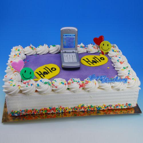 Item # 400303 - Toys: Mobiele Telefoon (met geluid) - 1 Figurine