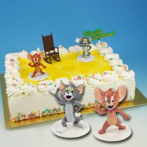 Item # 400306 - Toys:Tom & Jerry - 2 Figurines