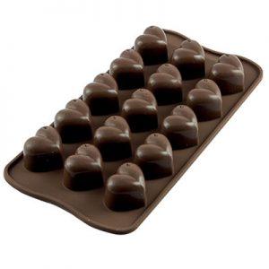"""Siliconen Chocoladevorm """"Monamour"""""""