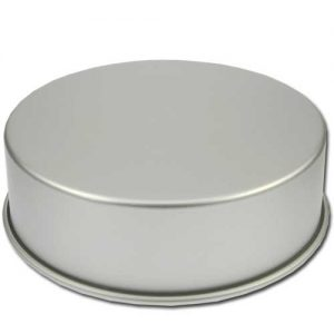 Bakvorm Rond - Ø 11 inch x h 4 inch - Geanodiseerd Aluminium -0