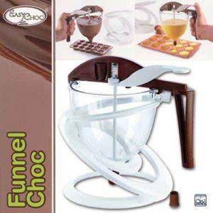 "Chocolade Doseer Trechter ""Funnel Choc""-0"