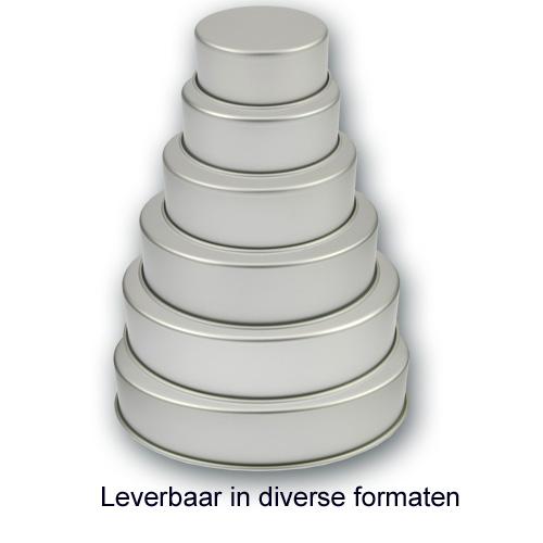 Bakvorm Rond – Geanodiseerd Aluminium – 4 inch hoog