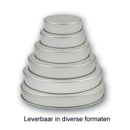 Bakvorm Rond – Geanodiseerd Aluminium – 3 inch hoog