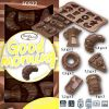 "Siliconen Chocoladevorm ""Good Morning"""
