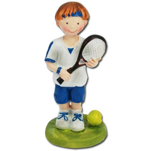 Tennis Jongen Figuurtje-0