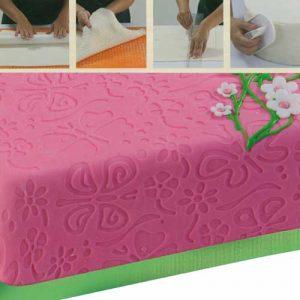 Reliëf Decoratie Mat : Vlinder Motief - 60 x 40 cm-0