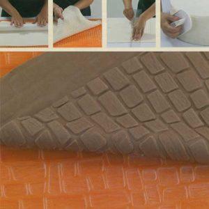 Reliëf Decoratie Mat : Baksteen Motief - 60 x 40 cm-0