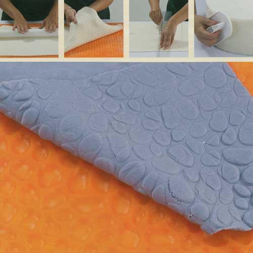 Reliëf Decoratie Mat : Steentjes Motief - 60 x 40 cm-0