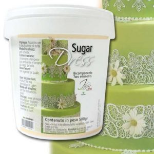 Sugar Dress Suiker Pasta - 500gr./pot-0
