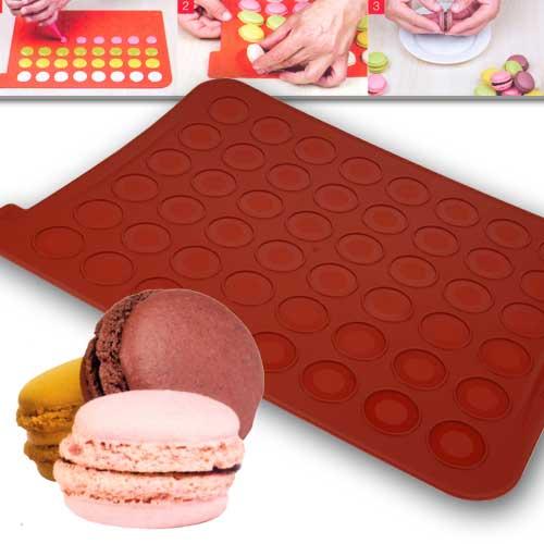 Siliconflex Macarons bakmat - 300mm x 400mm. - 1 stuks-0