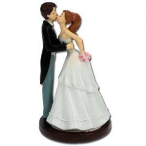 Bruidspaar Kussend - 1 stuks