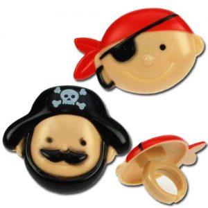 DecoRings: Piraten Ringen - 24 Stuks per zak-0