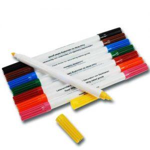 Set Decoratie Stiften met levensmiddelen inkt