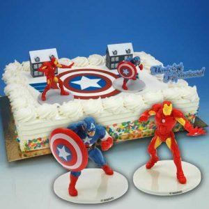 """Toys: """"Captain America en Iron Man""""-0"""