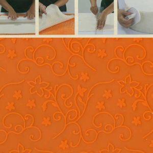 Reliëf Decoratie Mat : Klimop Motief