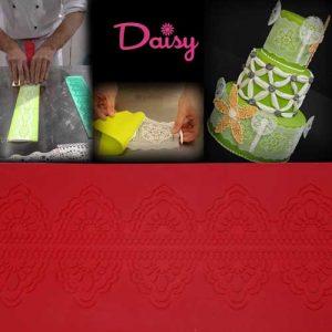 "Daisy Paste mat ""Bloem"" (Siliconen) - 390x80mm"