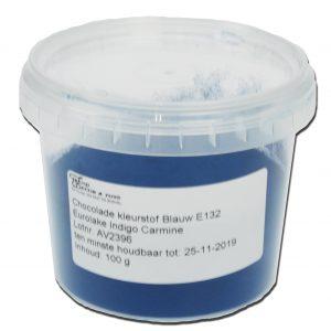 Chocolade kleurstof Blauw