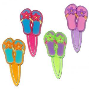 Decoratie slippers - 72 stuks-0