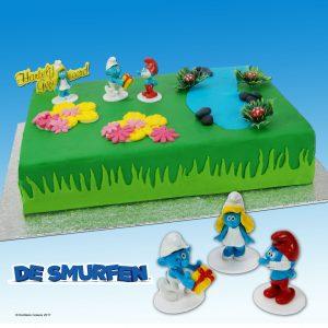 """Toys-set: """"Smurfen""""-0"""
