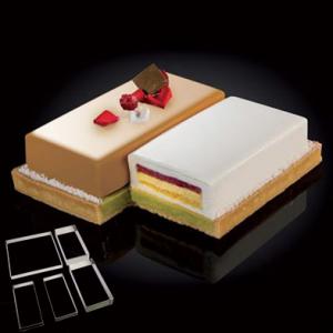 """CakeIdea Inox Gebaksringen """"Double""""22cm-0"""