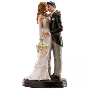 Bruidspaar Romantisch - Kussend