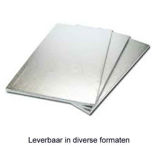 SWD Cake Board (Drum) - Rechthoek - Dikte 13mm
