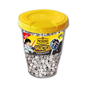 Taart Strooisels: Suiker confetti Sterretjes Zilver / Wit