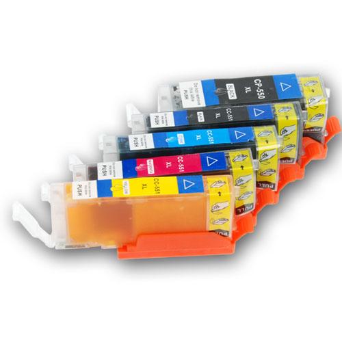 6060 Set - cartridge eetbare inkt TS 5050