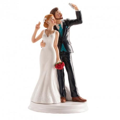Bruidspaar Selfie