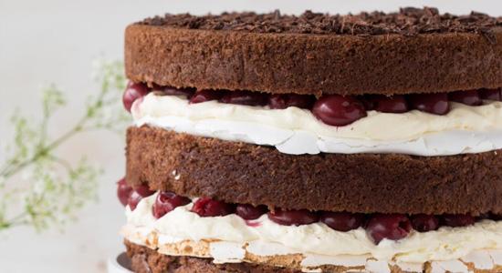 meringue taart vulling