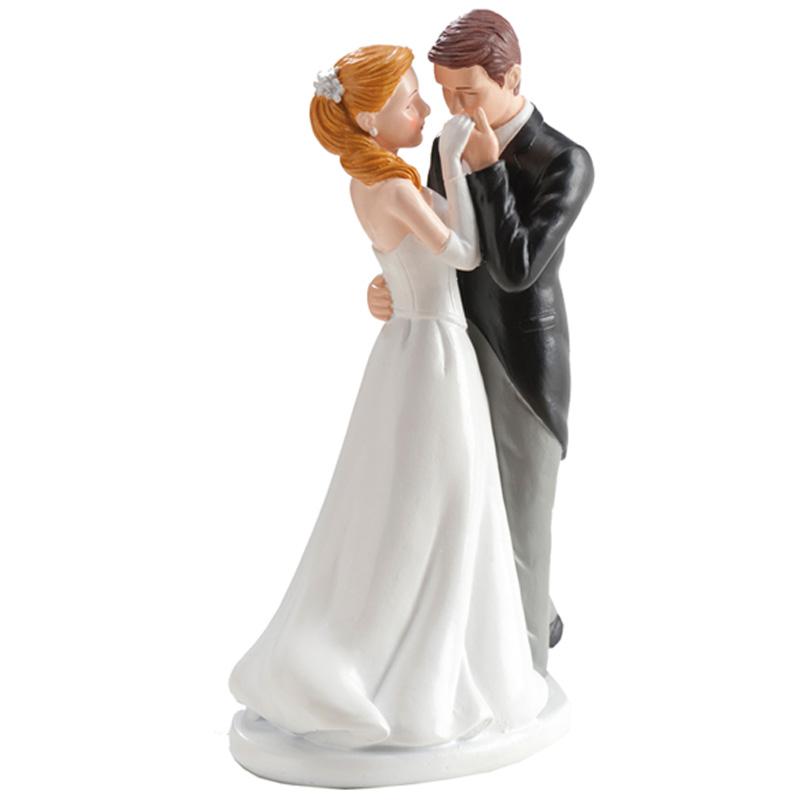 Bruidspaar Handkus