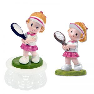 Tennis Meisje Figuurtje - hip