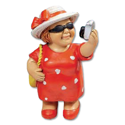 Sarah figuur - Selfie
